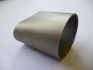 4 axis EDM machined part