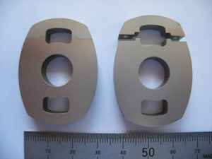 Clamps showing fine joint detail