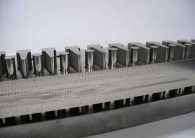 Test assembly of press tool