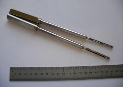 precision slotting of hardened materials