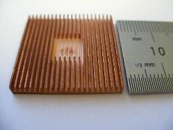 miniature custom heatsinks