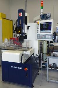 EDM Hole drilling machine