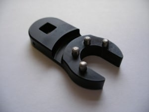 Very small spanner tool - chemi-blacked