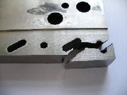 original broken press tool