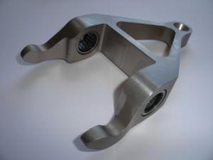Reverse engineered Porsche 959 selector fork
