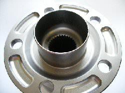 Rear hub internal spline